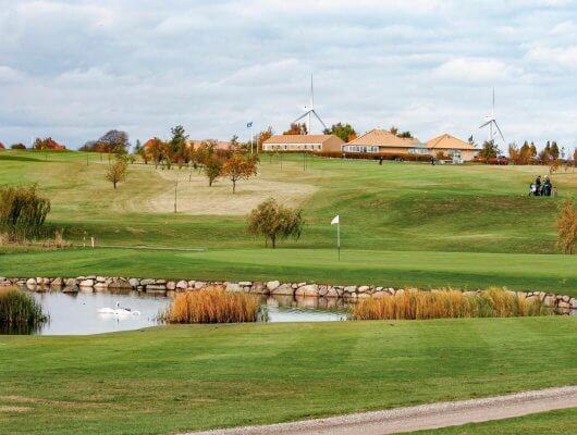 Golf på Møn