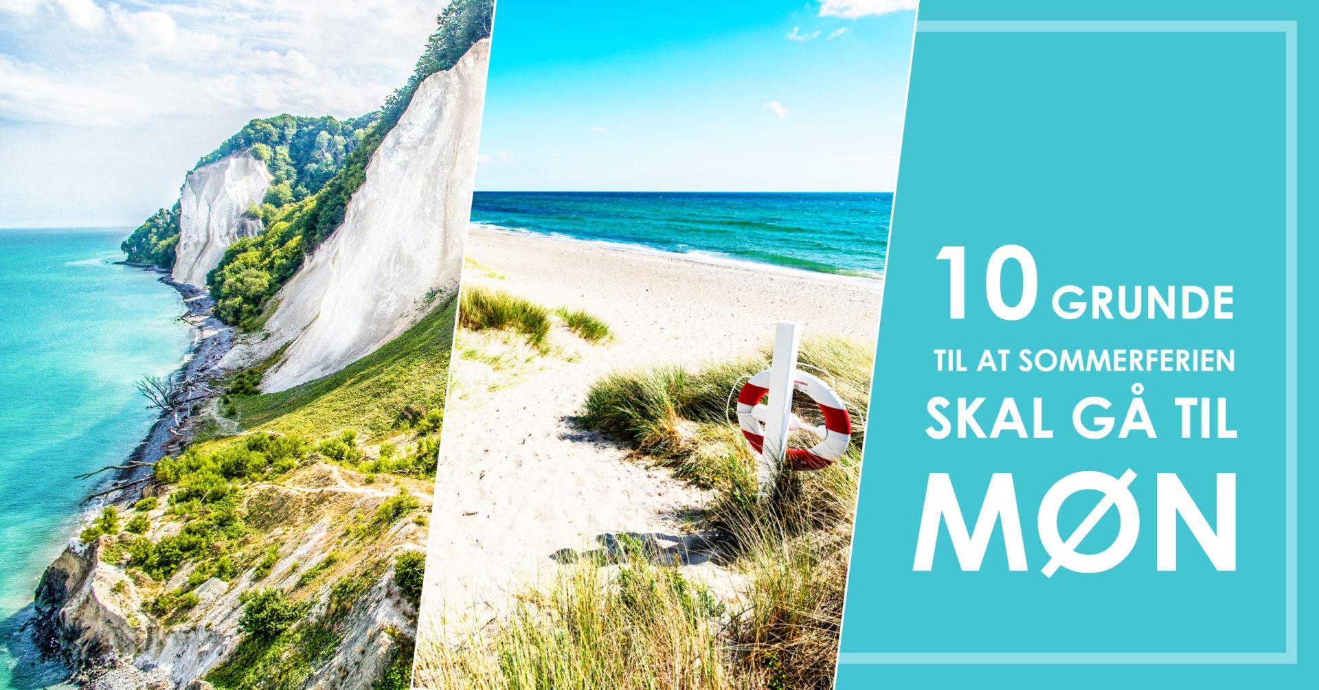 Møn ferie - Facebook banner